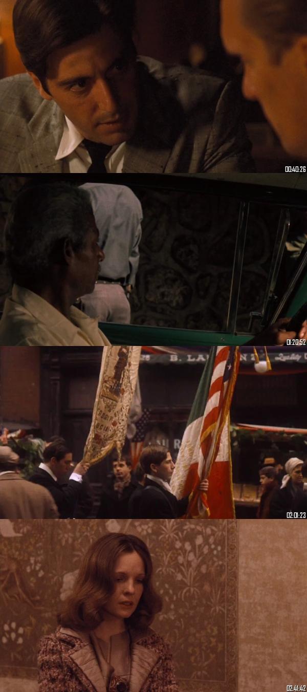 The Godfather Part II (1974) BRRip 720p 480p Dual Audio Hindi English Full Movie Download