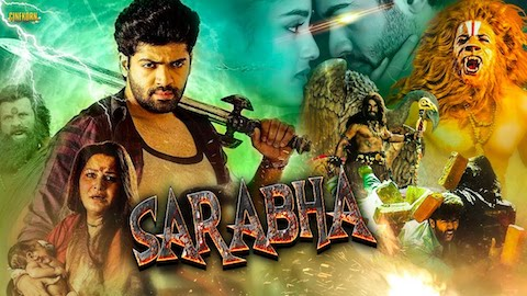 Sarabha The God 2019 Hindi Dubbed 720p HDRip 990mb