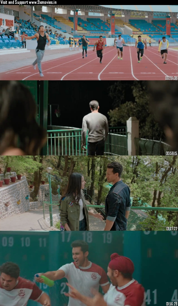 Student of the Year 2 (2019) Hindi 720p WEB-DL 1.1GB