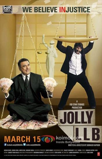 Jolly LLB 2013 Hindi 480p HDRip 350mb
