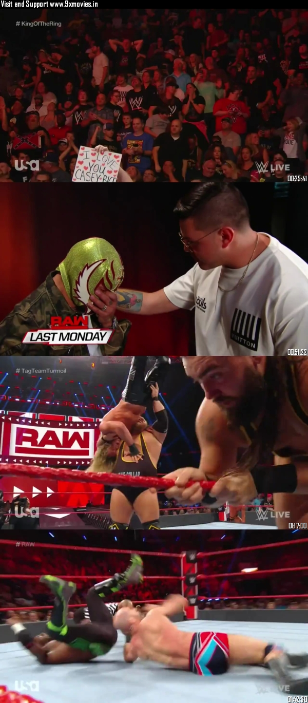 WWE Monday Night Raw 26 August 2019 HDTV 720p 480p 500mb