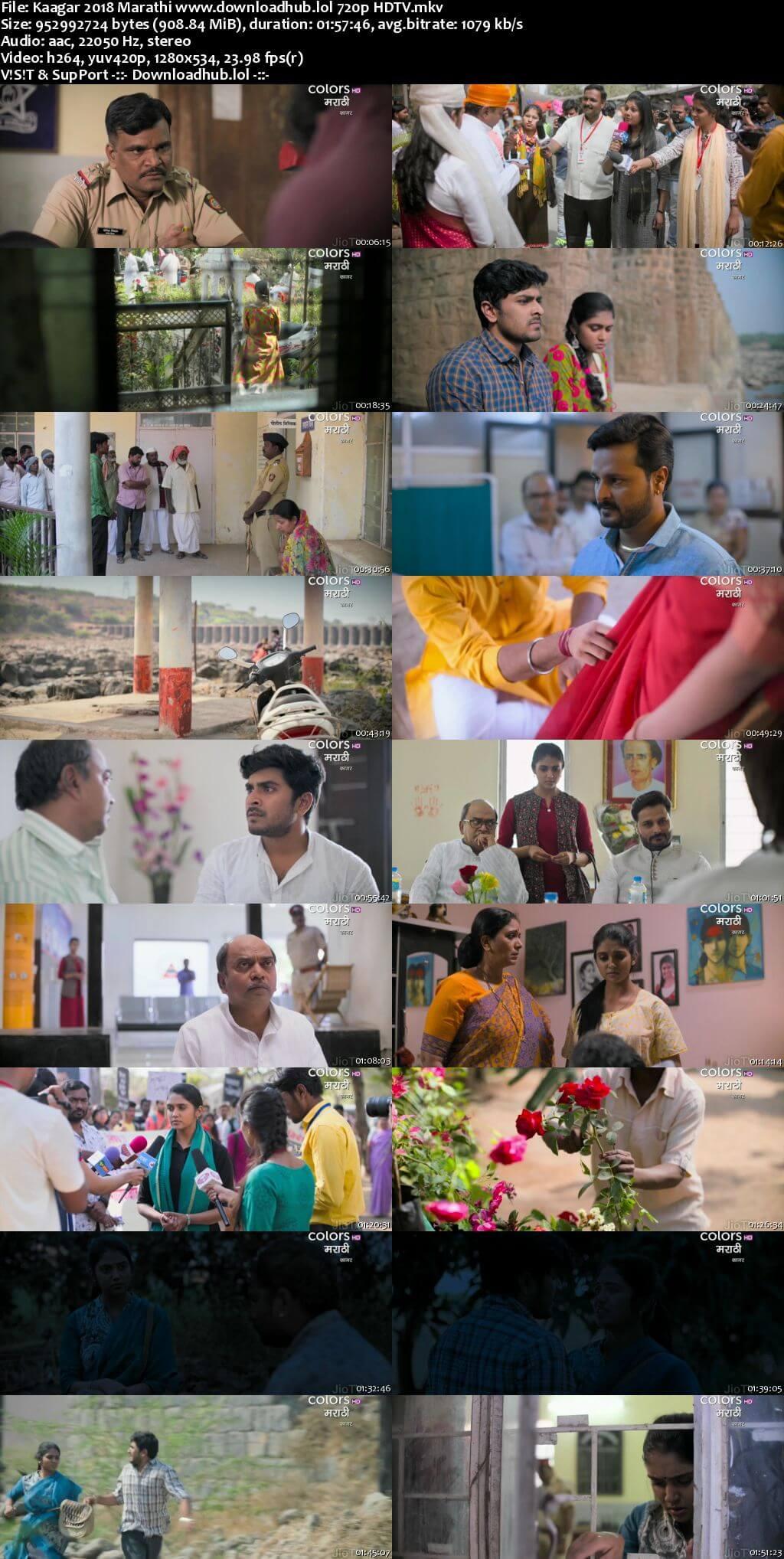 Kaagar 2018 Marathi 720p HDTV x264