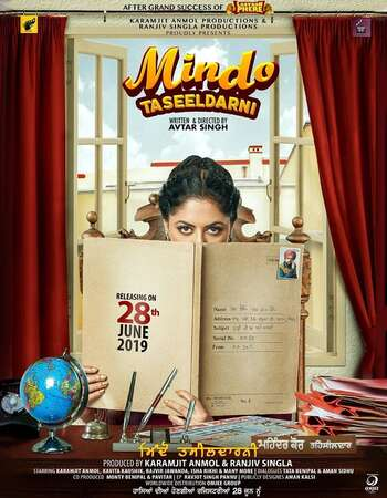 Mindo Taseeldarni 2019 Punjabi 650MB HDRip 720p ESubs HEVC Download