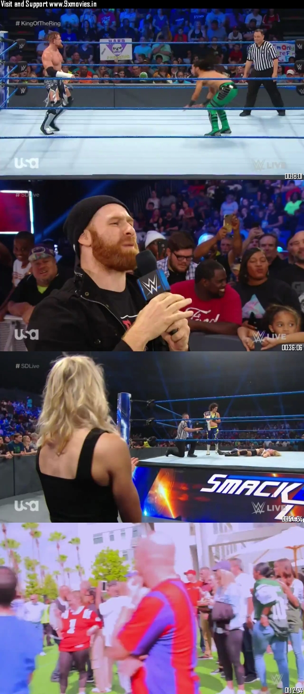 WWE Smackdown Live 27 August 2019 HDTV 720p 480p 300MB