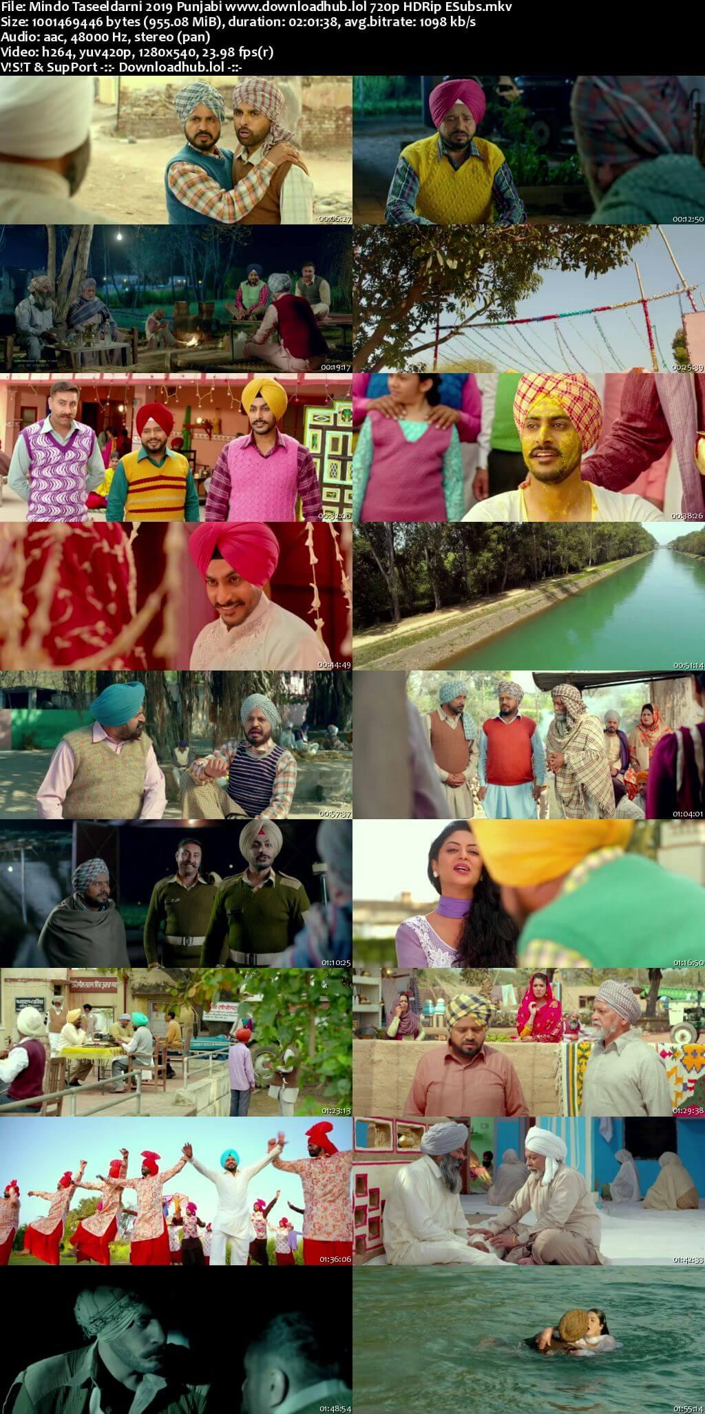 Mindo Taseeldarni 2019 Punjabi 720p HDRip ESubs