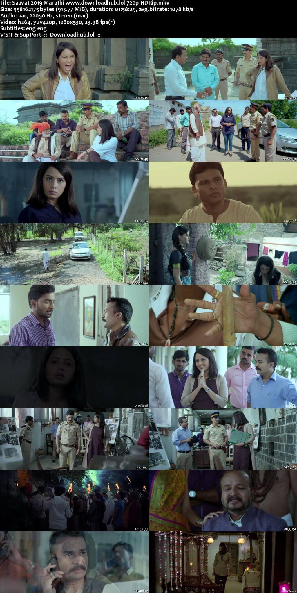 Saavat 2019 Marathi 720p HDRip ESubs