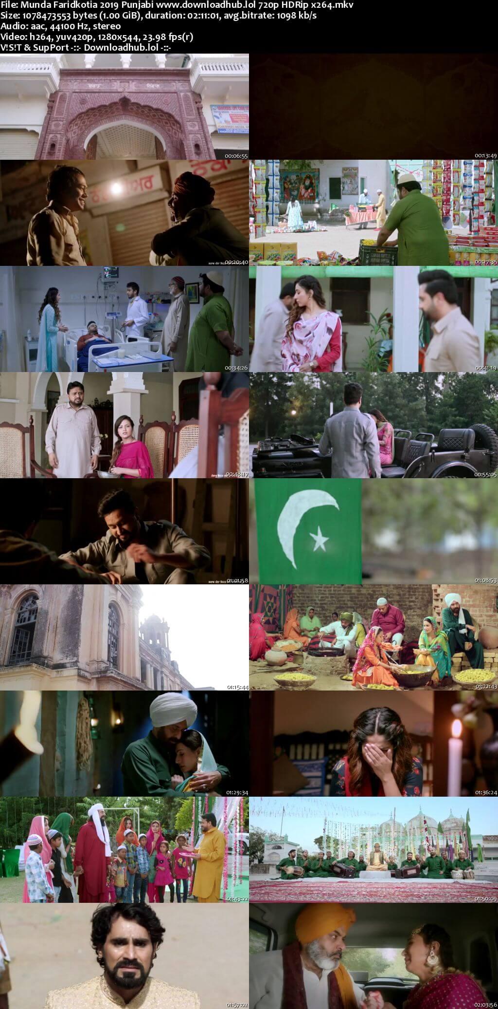 Munda Faridkotia 2019 Punjabi 720p HDRip x264