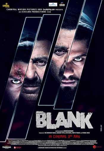 Blank 2019 Hindi Full Movie Download