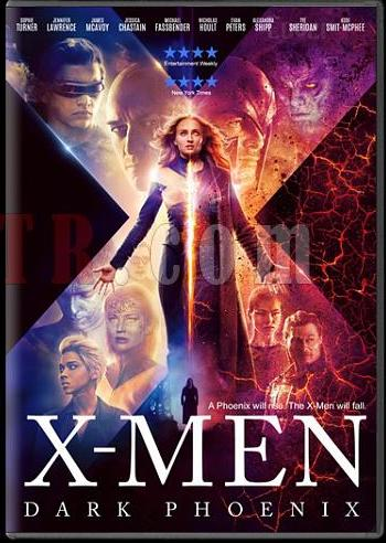 X-Men Dark Phoenix 2019 Dual Audio ORG Hindi 480p BluRay 350MB