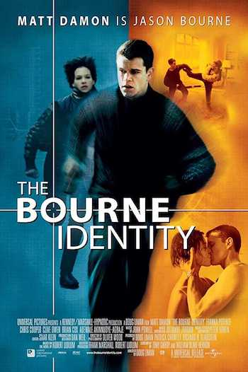 The Bourne Identity 2002 Dual Audio Hindi English BRRip 720p Movie Download