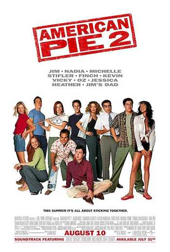 American Pie 2 2001 Dual Audio Hindi English BRRip 480p Movie Download
