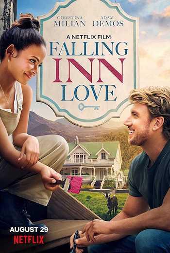 Falling Inn Love 2019 Dual Audio Hindi English BRRip 480p Movie Download