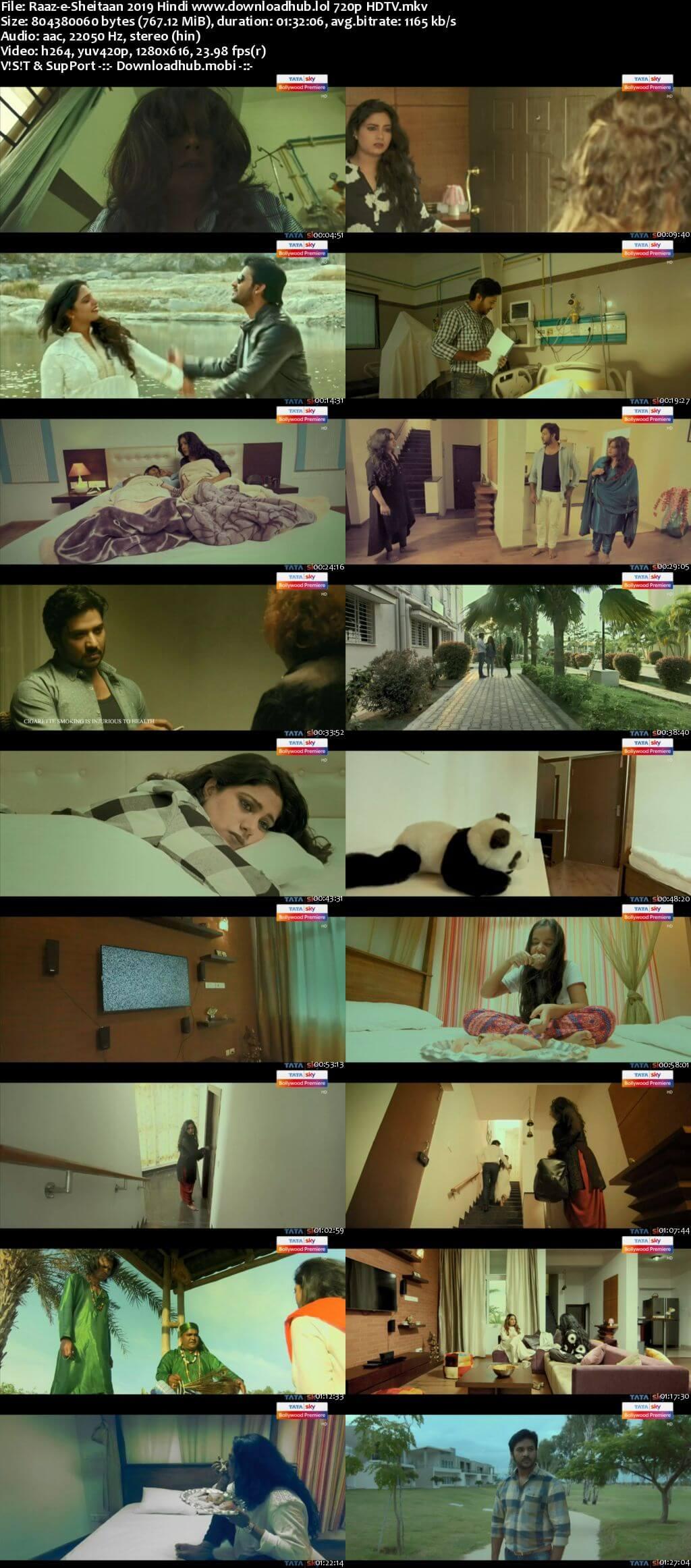 Raaz-e-Sheitaan 2019 Hindi 720p HDTV x264