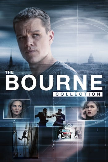 Bourne Collection (2002-2016) All Movies Dual Audio Hindi Full Movie Download