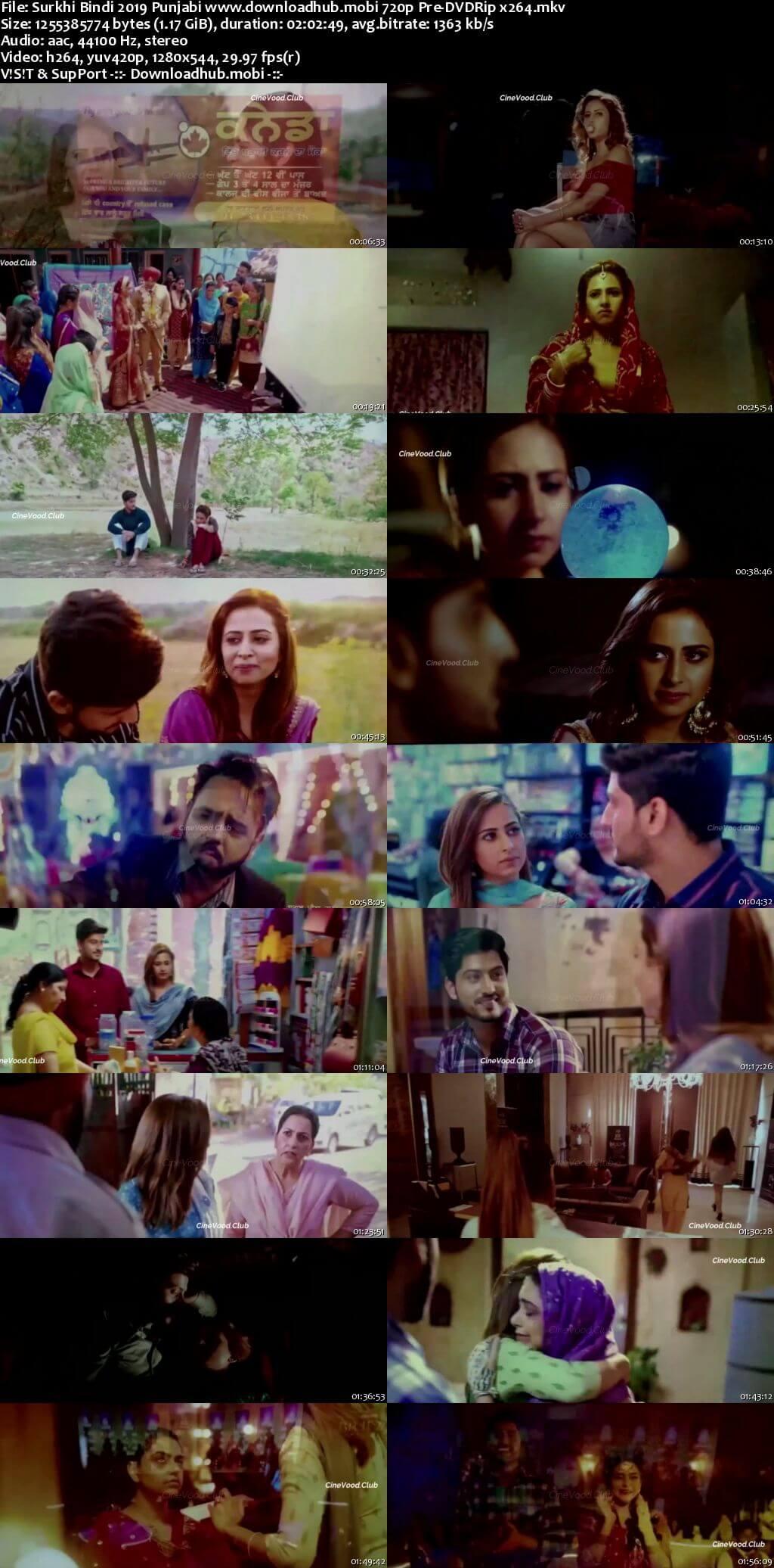 Surkhi Bindi 2019 Punjabi 720p Pre-DVDRip x264