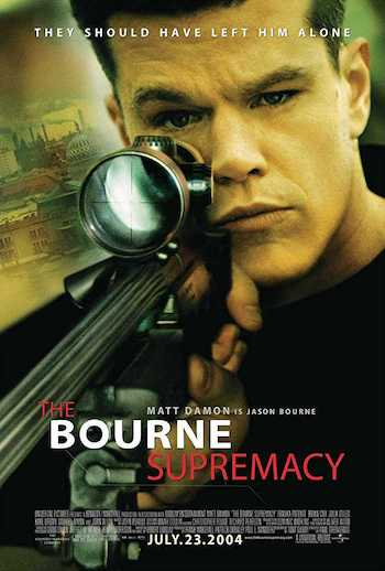 The Bourne Supremacy 2004 Dual Audio Hindi English BRRip 720p Movie Download