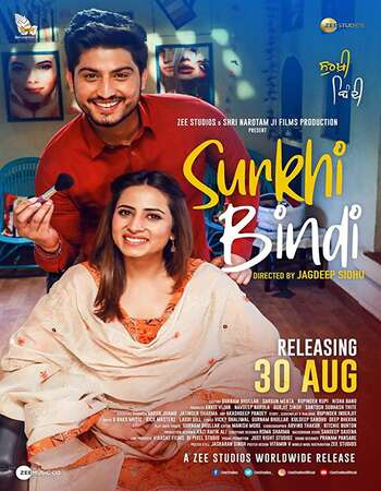 Surkhi Bindi 2019 Punjabi Movie 720p Pre-DVDRip Download