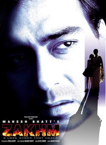 Zakhm 1998 Hindi 720p WEBRip 850mb