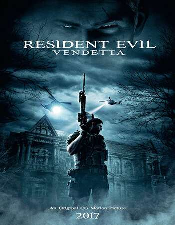 Resident Evil Vendetta 2017 Hindi Dual Audio BRRip Full Movie 720p HEVC Download