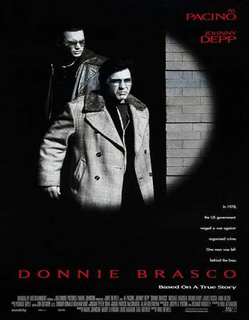 Donnie Brasco 1997 Hindi Dual Audio BRRip Full Movie 720p Download