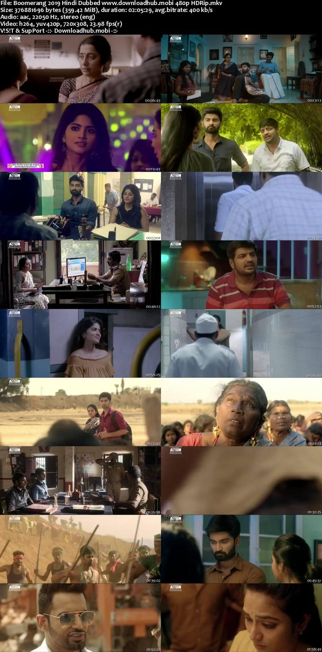 Boomerang 2019 Hindi Dubbed 350MB HDRip 480p