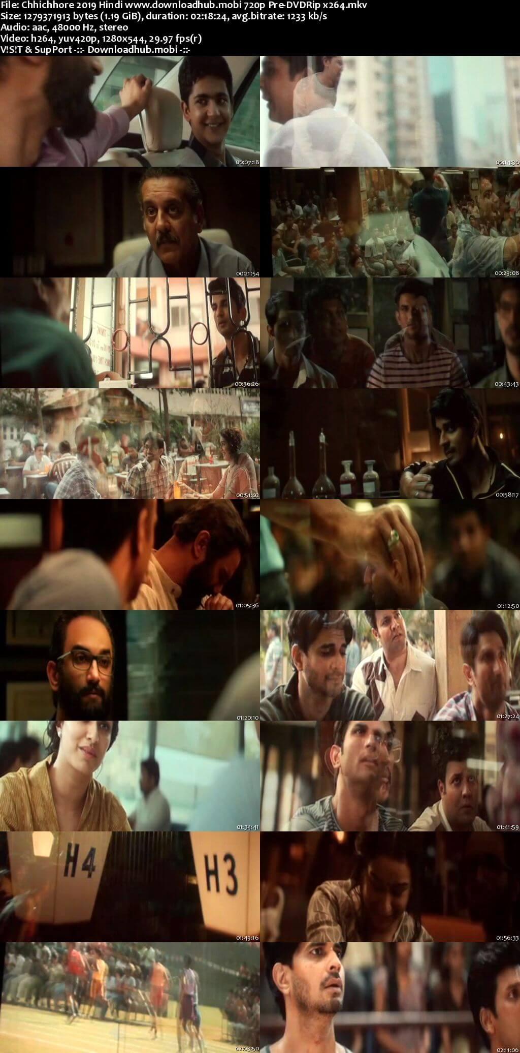 Chhichhore 2019 Hindi 720p Pre-DVDRip x264