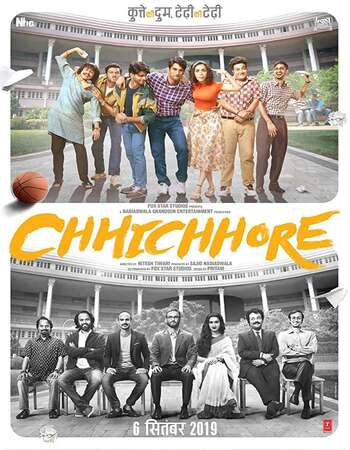Chhichhore 2019 Hindi 720p HDRip ESubs