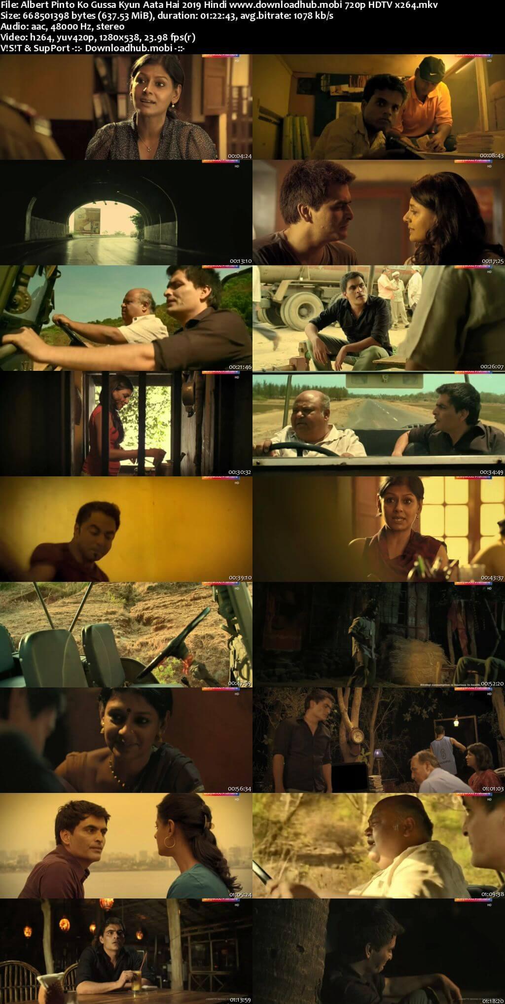 Albert Pinto Ko Gussa Kyun Aata Hai 2019 Hindi 720p HDTV x264