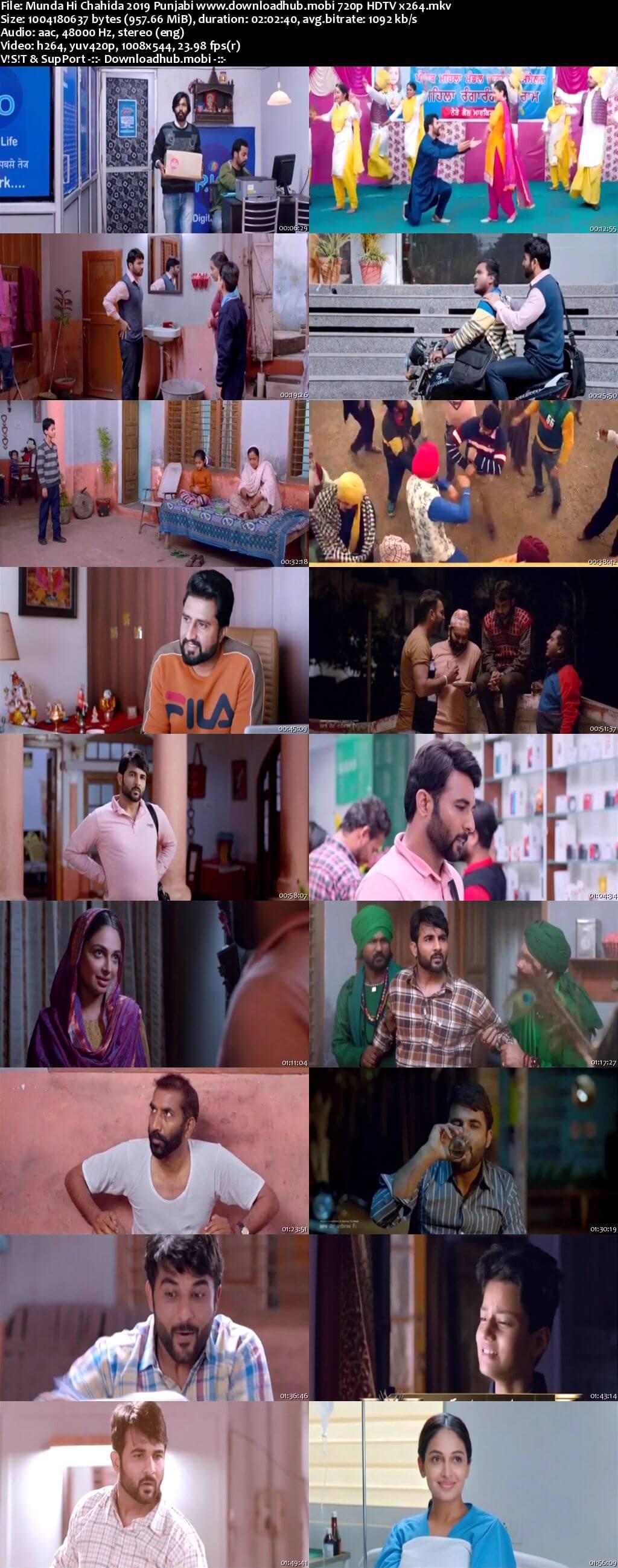 Munda Hi Chahida 2019 Punjabi 720p HDTV x264