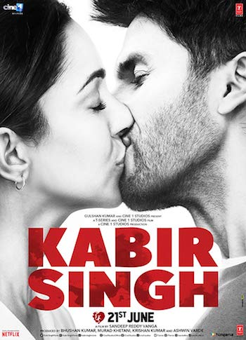 Kabir Singh 2019 Hindi 720p DVDScr 1.3GB