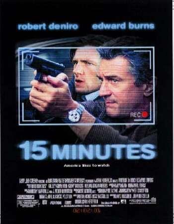 15 Minutes 2001 Hindi Dual Audio BRRip Full Movie 480p Download