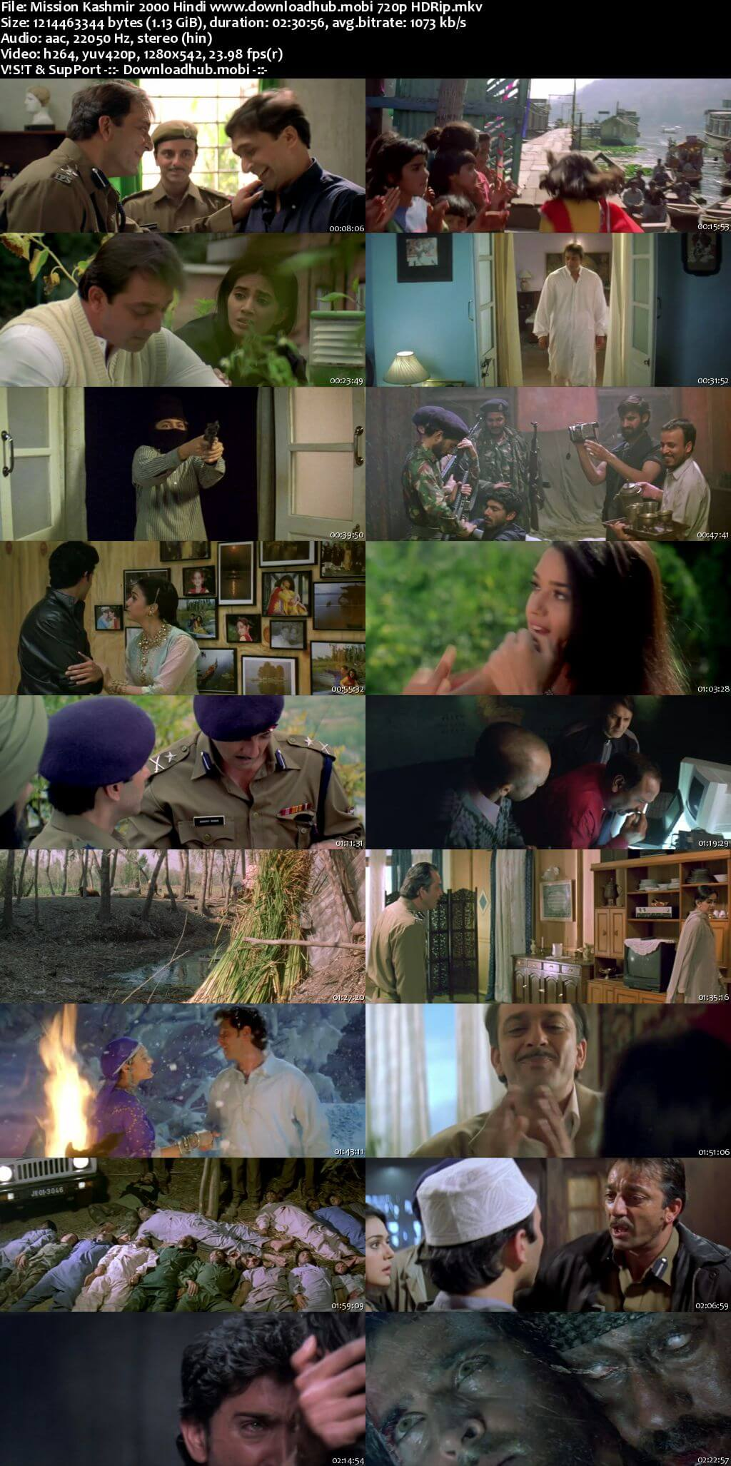 Mission Kashmir 2000 Hindi 720p HDRip x264