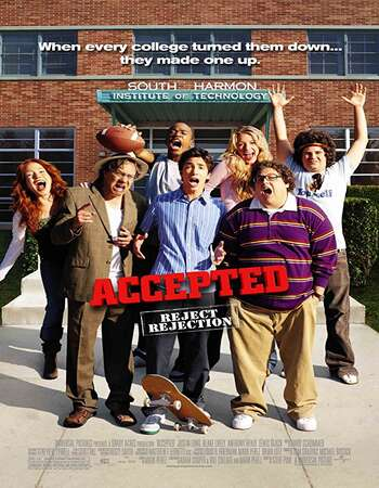 Accepted 2006 Hindi Dual Audio BRRip Full Movie 300mb Download
