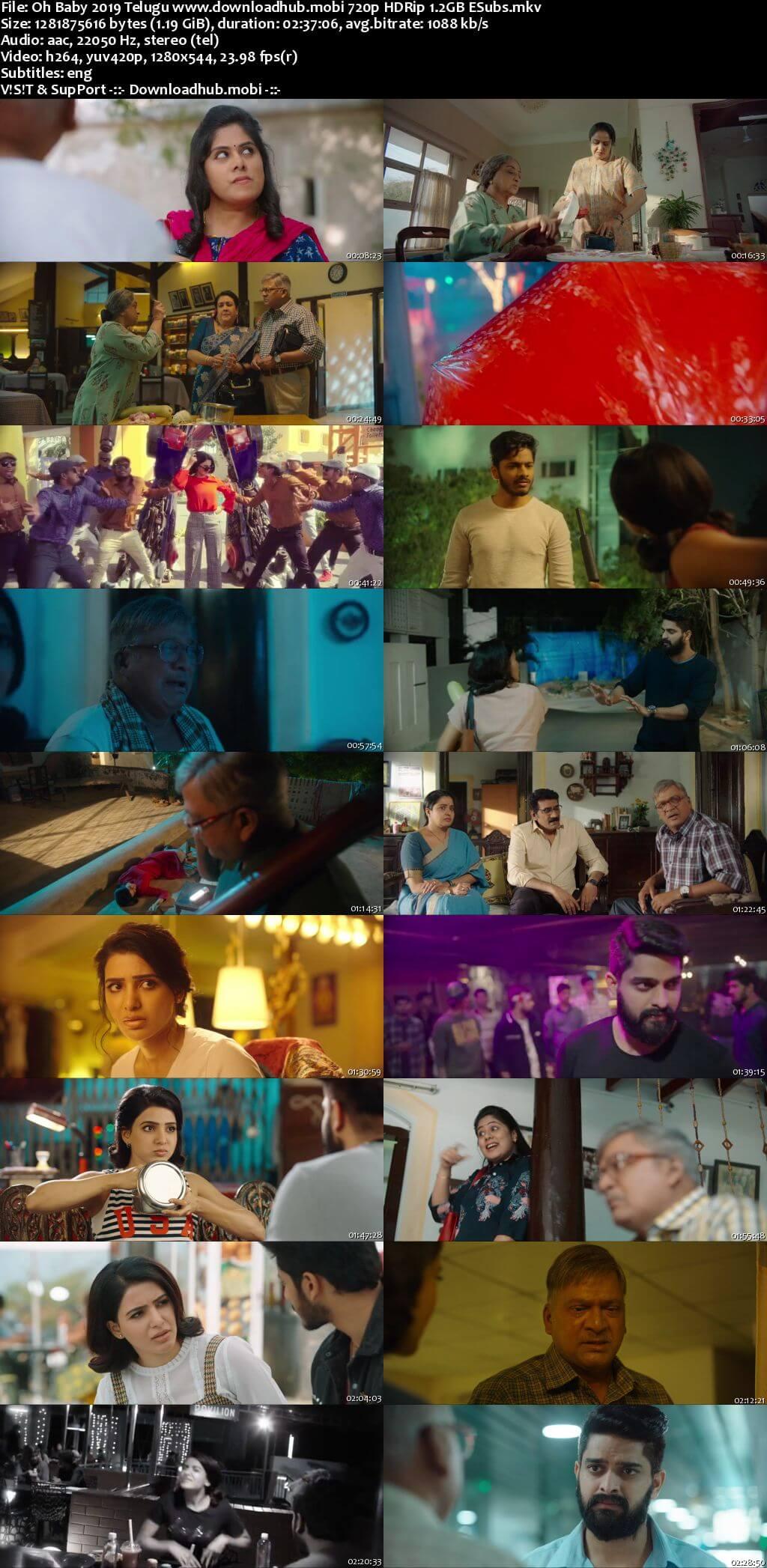 Oh Baby 2019 Telugu 720p HDRip ESubs