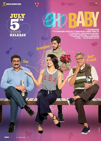 Oh Baby 2019 Telugu 720p HDRip 1.2GB ESubs