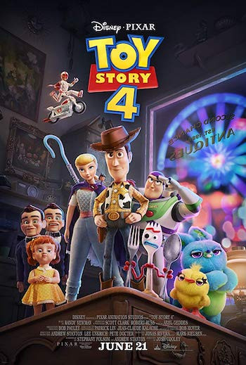 Toy Story 4 (2019) Dual Audio Hindi 720p HDRip 800mb