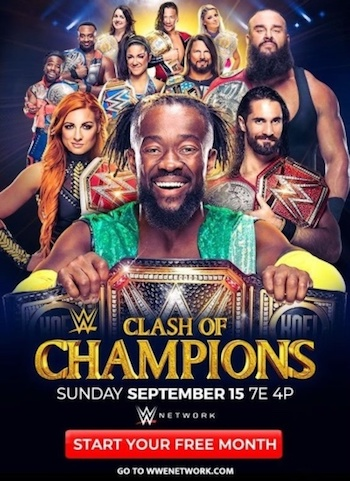 WWE Clash Of Champions 2019 HDRRip 480p x264 800MB