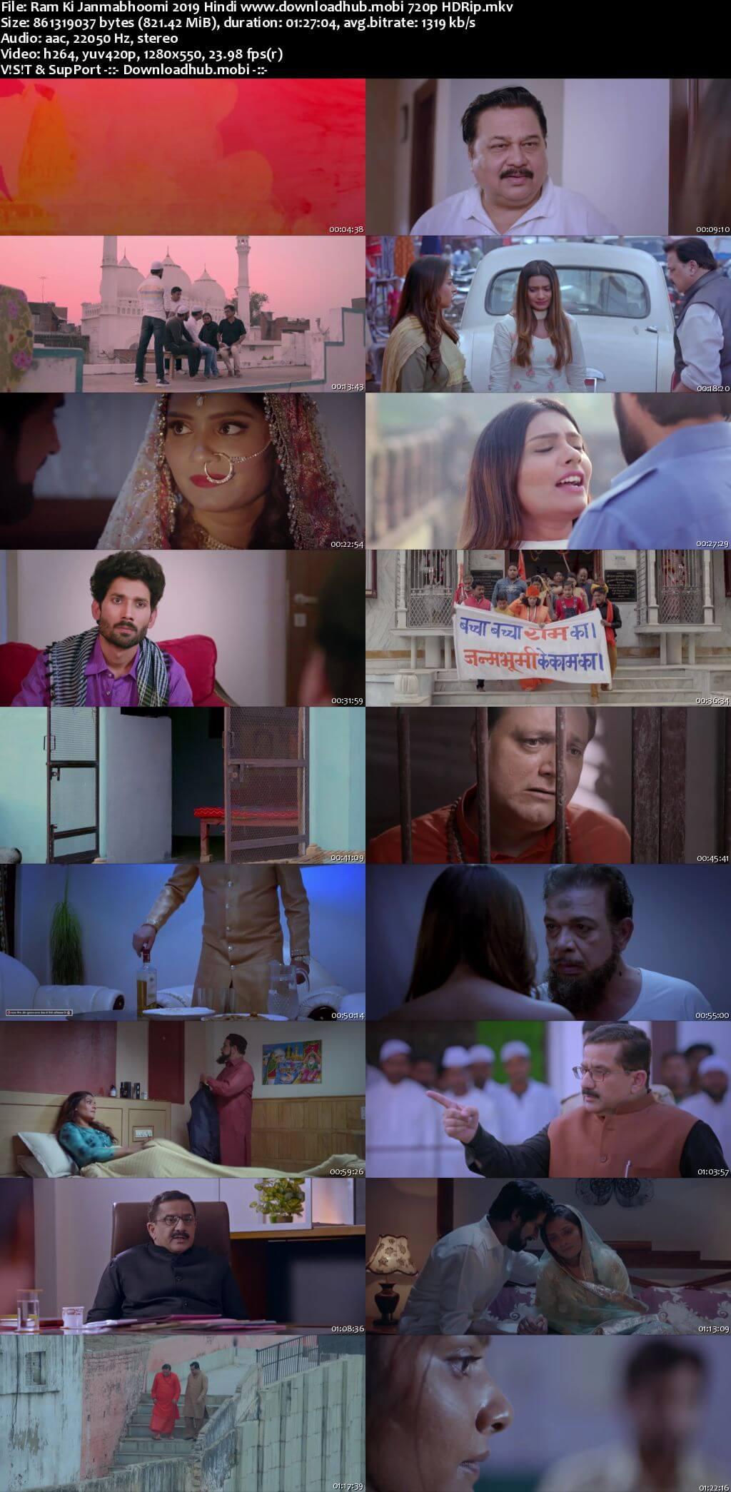Ram Ki Janmabhoomi 2019 Hindi 720p HDRip x264