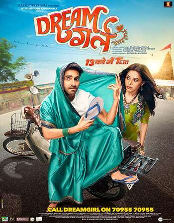 Dream Girl 2019 Hindi 350MB HDRip 480p