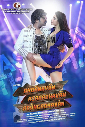 Anbanavan Asaradhavan Adangadhavan 2017 UNCUT Dual Audio Hindi 720p HDRip 1.1GB