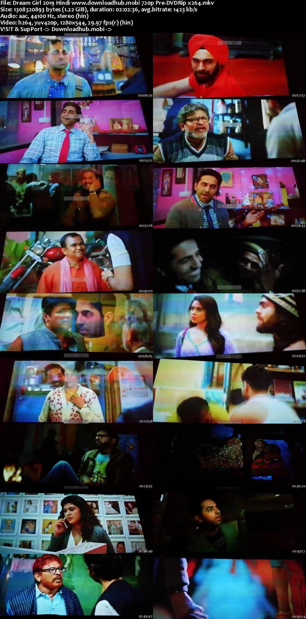 Dream Girl 2019 Hindi 720p Pre-DVDRip x264