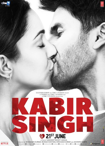 Kabir Singh 2019 Hindi 1080p WEB-DL 1.77GB ESubs