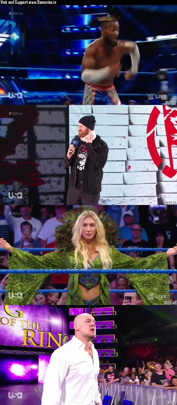 WWE Smackdown Live 17 September 2019 HDTV 720p 480p 300MB