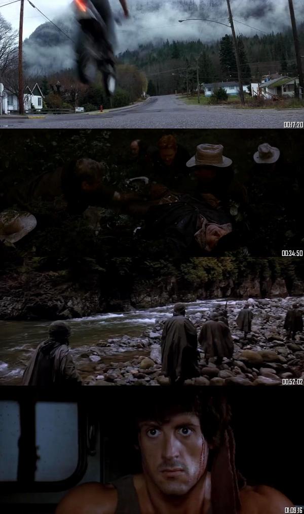 Rambo First Blood 1982 BRRip 720p 480p Dual Audio Hindi English Full Movie Download