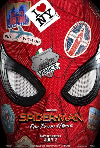 Spider Man Far From Home 2019 English 720p WEB-DL 950MB ESubs