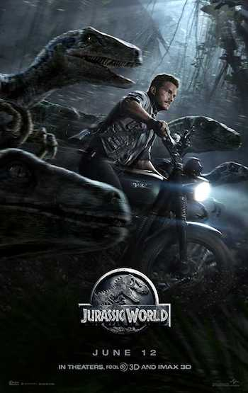 Jurassic World 2015 Dual Audio Hindi English BRRip 480p Movie Download