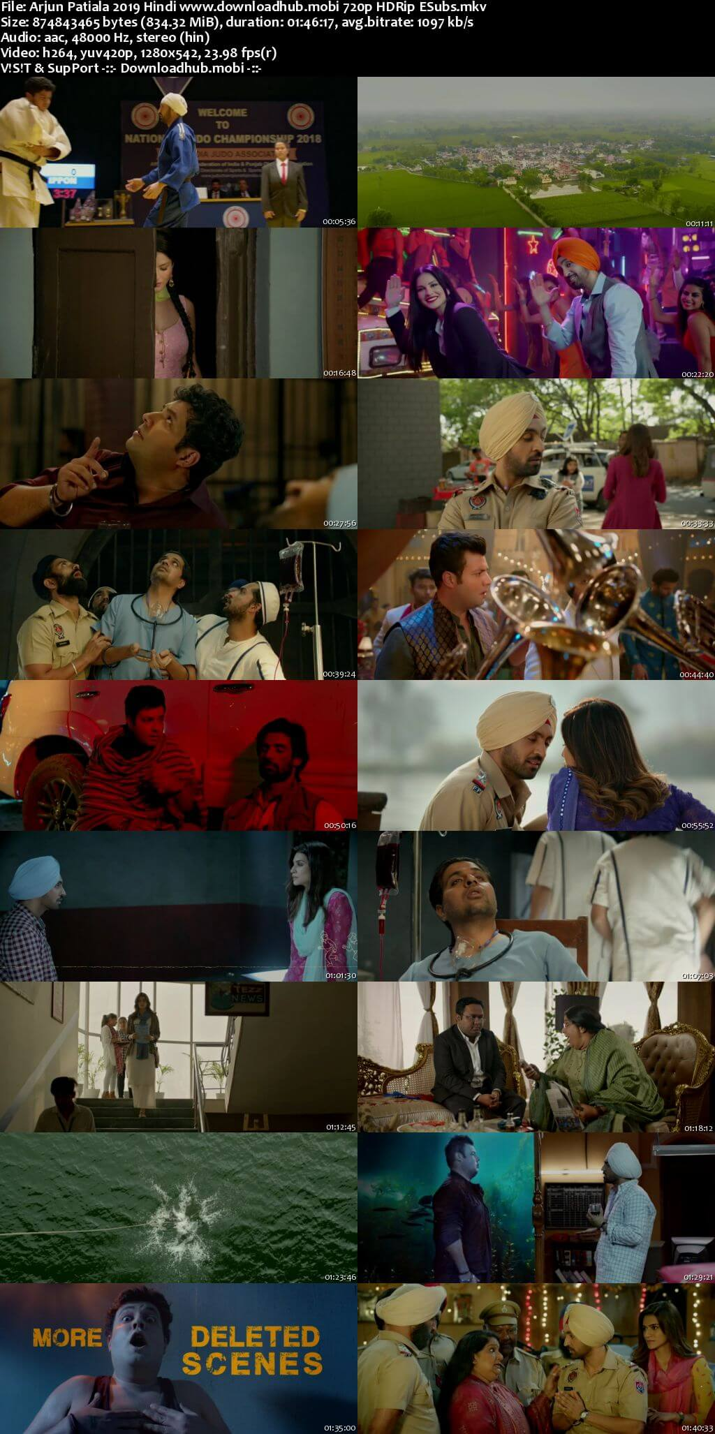 Arjun Patiala 2019 Hindi 720p HDRip ESubs