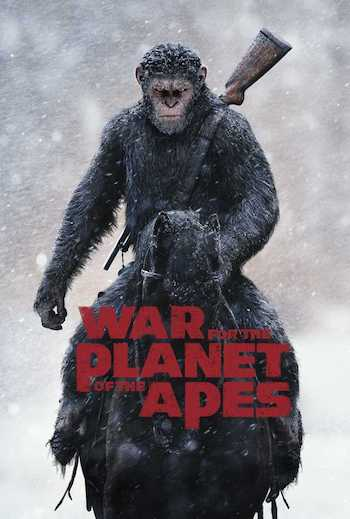 War for the Planet of the Apes 2017 Dual Audio Hindi English BRRip 720p Movie Download