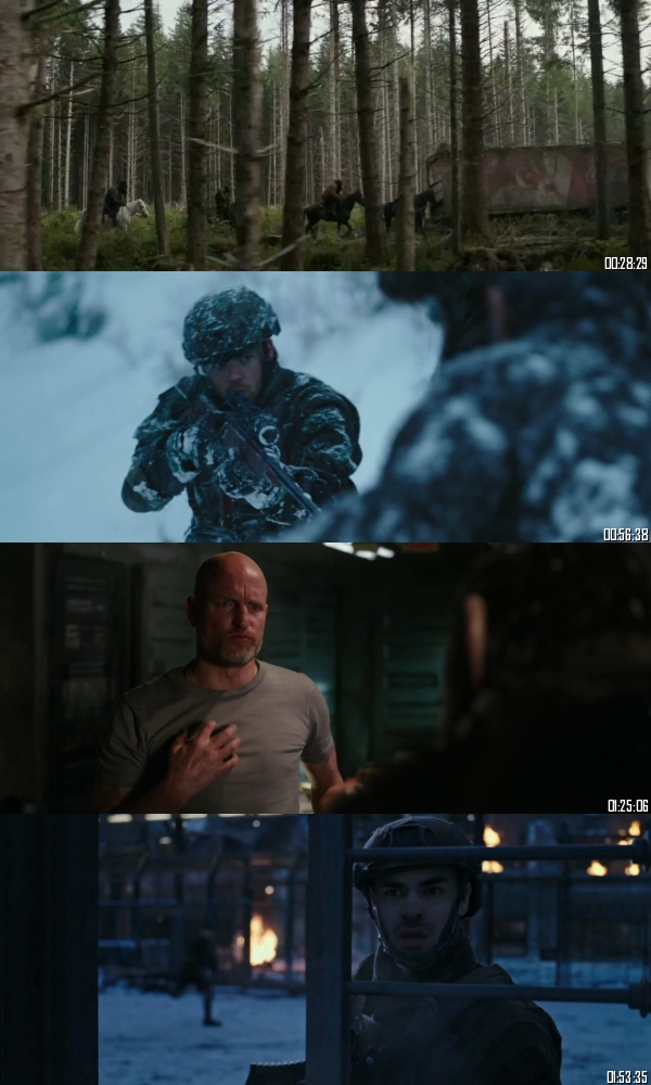War for the Planet of the Apes 2017 BRRip 720p 480p Dual Audio Hindi English Full Movie Download