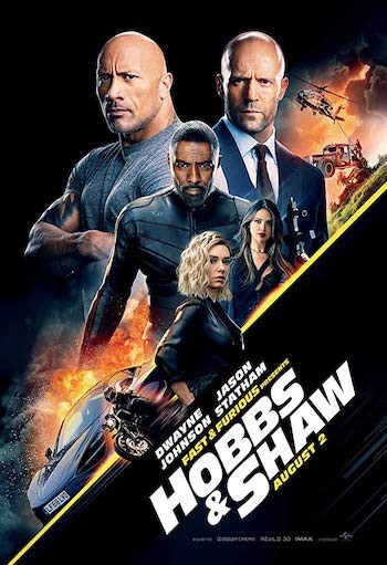 Hobbs & Shaw 2019 Dual Audio Hindi 720p HDRip 950mb
